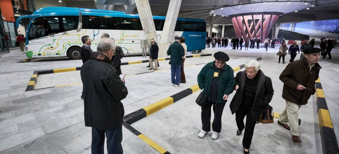 New bus station